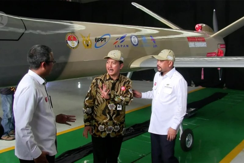 PT DI dan BPPT kembangkan pesawat tanpa awak Black Eagle