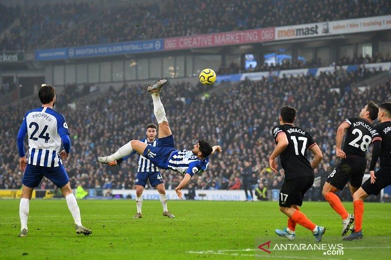 Gol spektakuler Brighton gagalkan kemenangan Chelsea