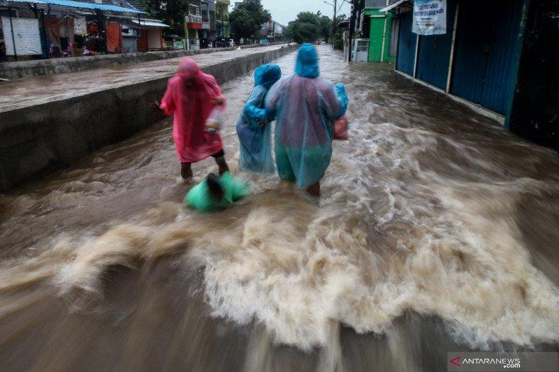 Banjir juga terjadi di Tangerang Selatan