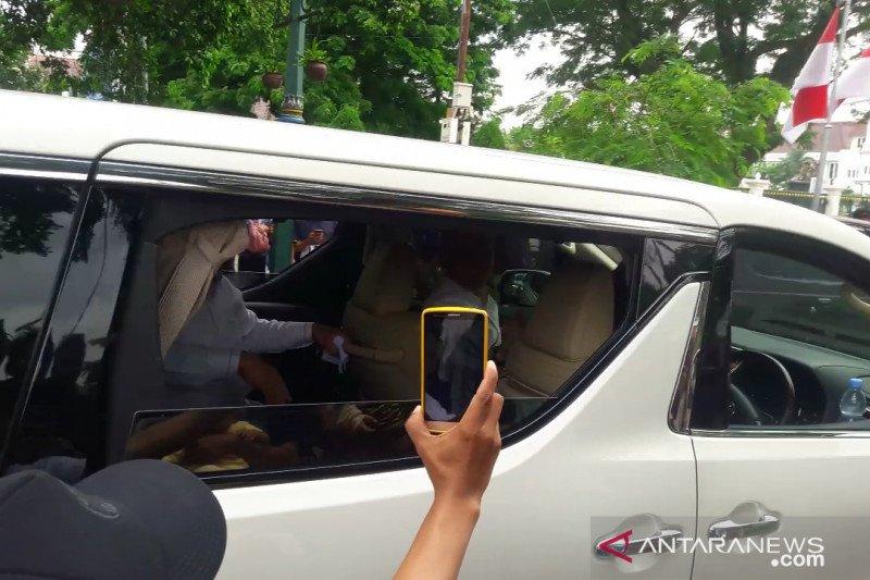 Prabowo ajak putranya temui Jokowi di Gedung Agung