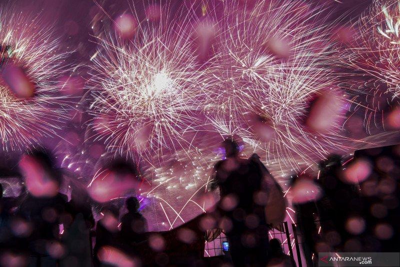 Di DKI Jakarta, 8.179 personel gabungan mengamankan Tahun Baru 2021
