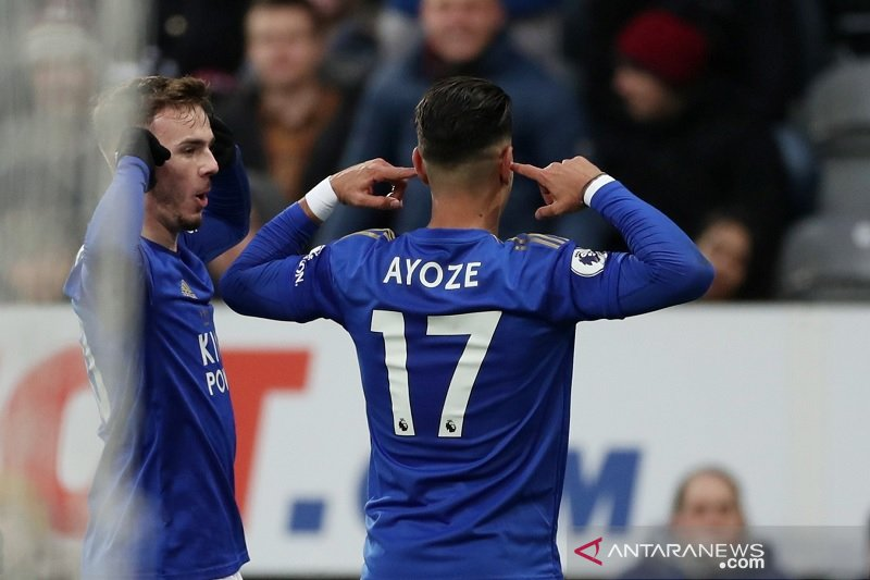 Leicester gunduli Newcastle saat Watford lanjutkan tren positif