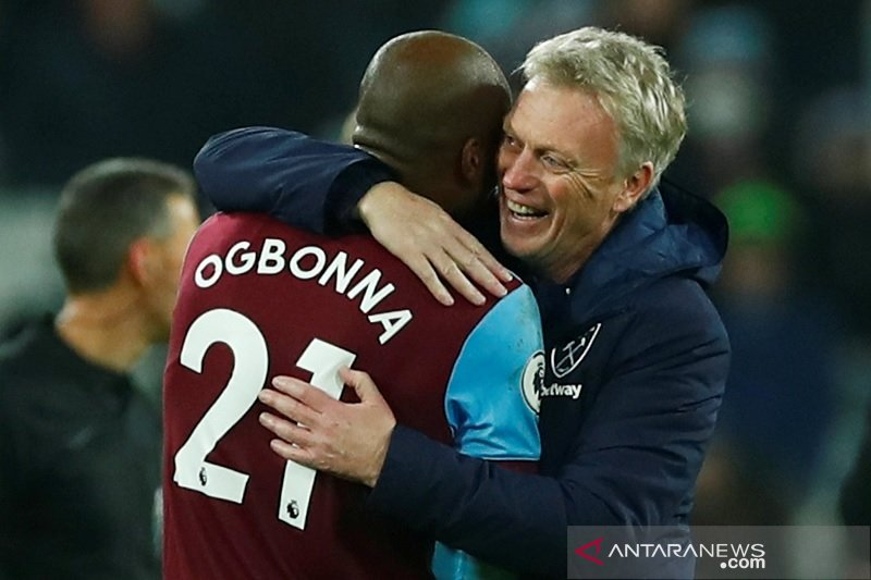 West Ham tandai kembalinya Moyes melumat Bournemouth 4-0