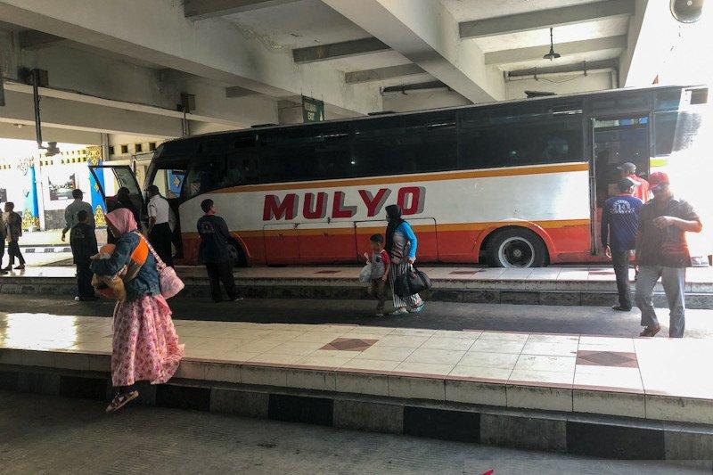 Sejumlah bus alami keterlambatan masuk Terminal Giwangan Yogyakarta