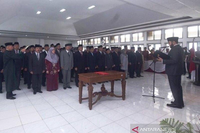 Wali Kota Padang Panjang lantik 125 pejabat