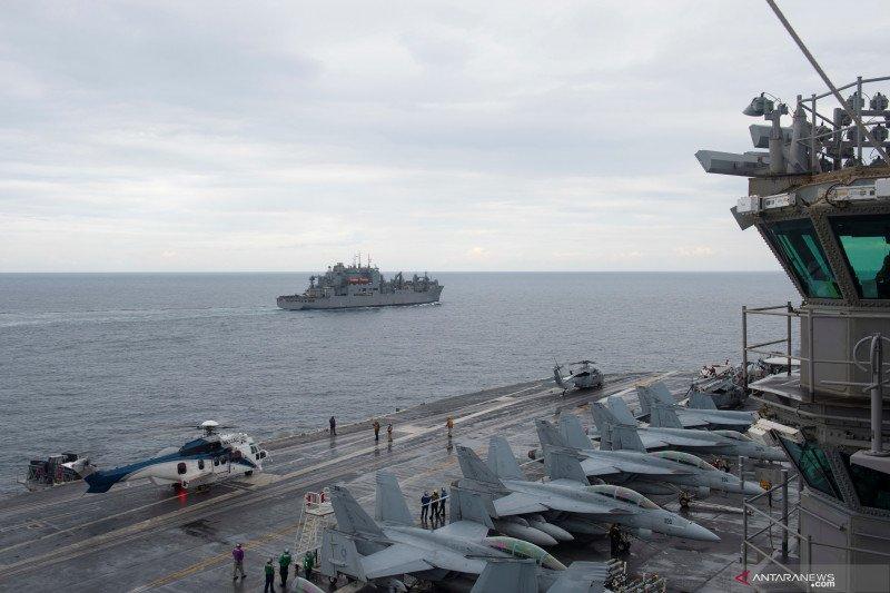 Kapal perang AS di Laut Arab sita  senjata  yang diduga buatan Iran