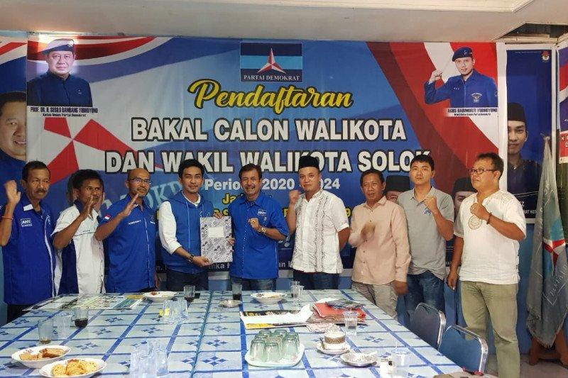 Empat bakal calon Wali Kota Solok mendaftar ke Demokrat, ini orangnya