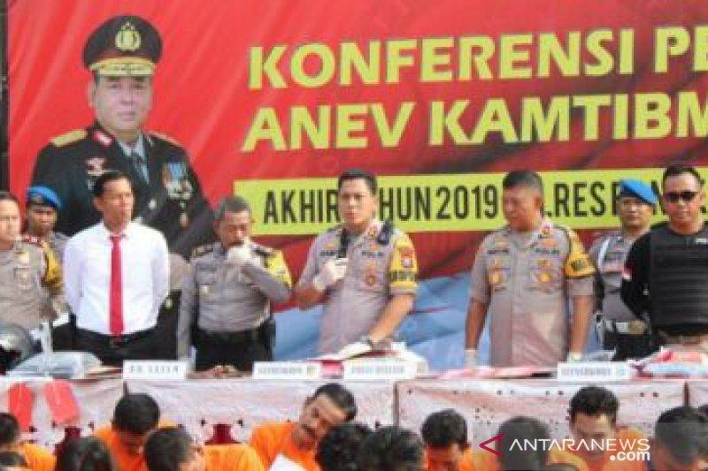 Kapolres: Enam anggota polisi terlibat narkoba jalani sanksi