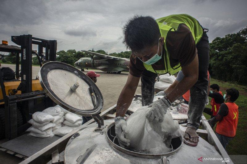 Senin, BMKG: Jakarta berpotensi hujan, petir dan angin kencang