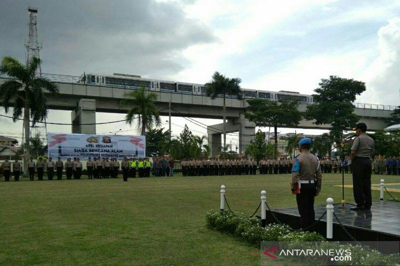 1.700 personel gabungan siaga banjir di Palembang