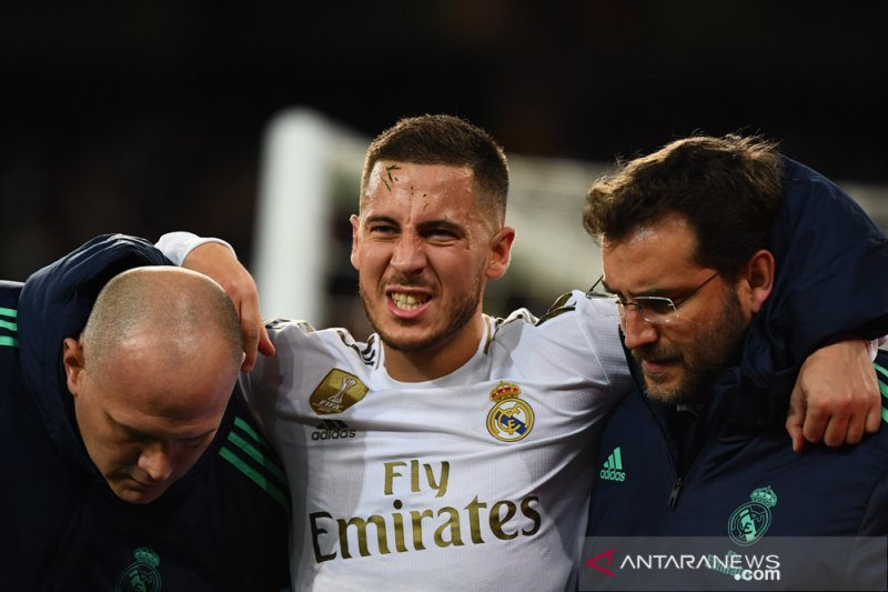Pelatih Real Madrid: Hazard absen di Piala Super Spanyol