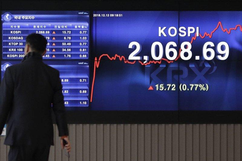 Saham Korsel dibuka lebih tinggi, Indeks KOSPI naik 0,78 persen