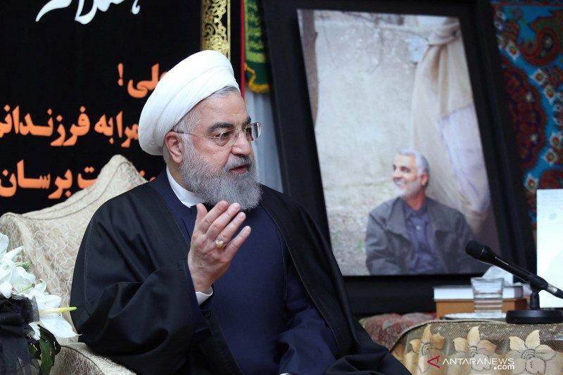 Presiden Iran yakini AS akan kembali ke komitmen kesepakatan nuklir