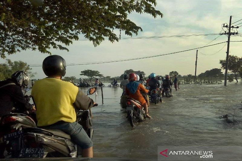 Bupati Gresik minta pemprov prioritaskan penanganan banjir Kali Lamong