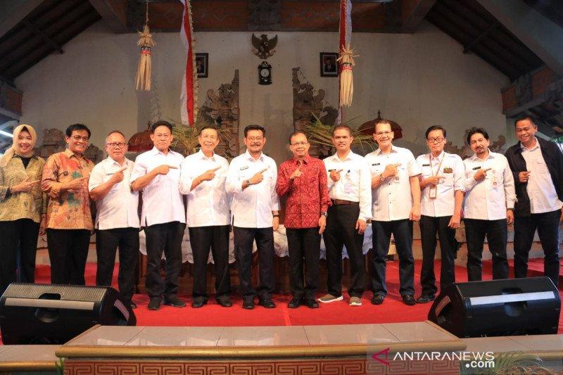 Syahrul Yasin Limpo puji komitmen Gubernur Bali majukan pertanian