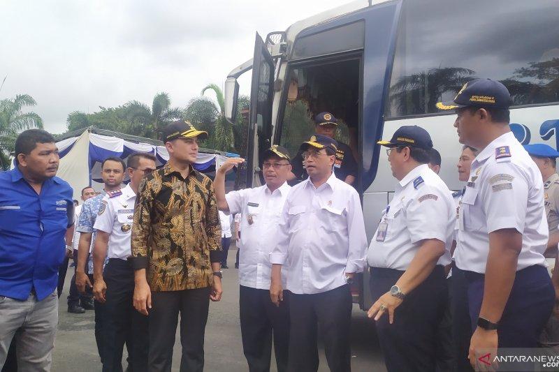 Menhub akan terapkan sistem tiket online di Terminal Bus Medan