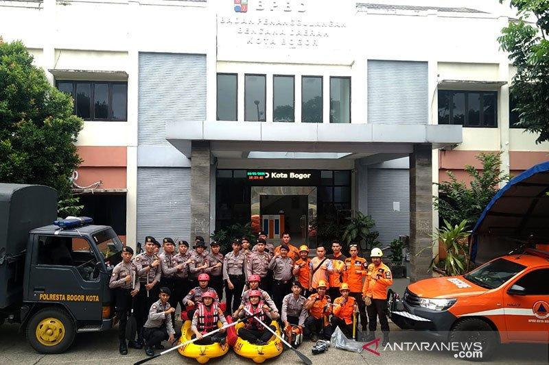 Polresta Bogor Kota siap bantu BPBD Kota Bogor tangani bencana