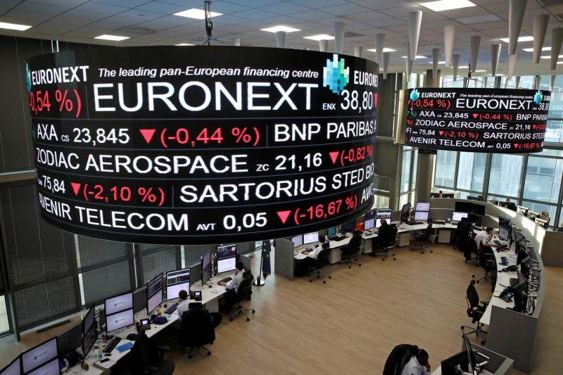 Saham Prancis ditutup merosot, indeks CAC 40 tergerus 0,33 persen