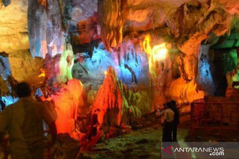 Objek wisata Goa Putri libur tahun baru sepi pengunjung