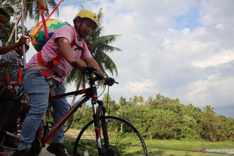 The village in Pariaman build a tourist attraction