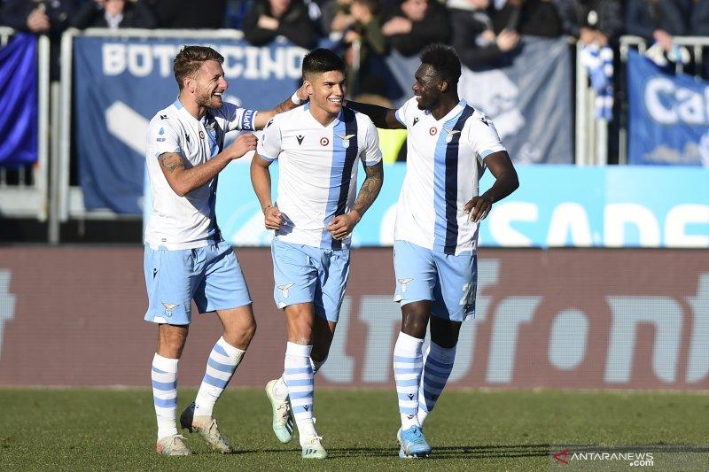 Hasil dan klasemen Liga Italia, Roma tumbang di kandang