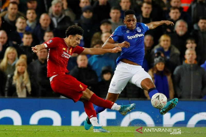 Pemain muda Liverpool bikin Everton tak berkutik dalam Derby Merseyside