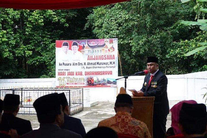 Sutan Riska kenang perjuangan Pj Bupati Dharmasraya Pertama Ahmad Munawar