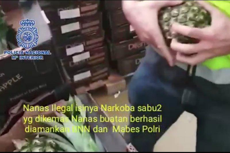 Hoaks, video sabu dalam nanas terjadi di Indonesia