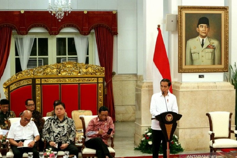 Presiden Joko Widodo tegaskan tak ada tawar-menawar soal kedaulatan NKRI di Natuna