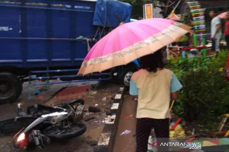 Kecelakaan di jalan lingkar Temanggung dua orang tewas