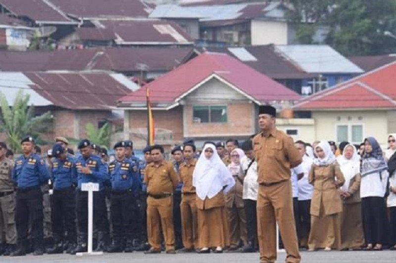 Wali Kota Padang Panjang ingatkan ASN dan THL tingkatkan kinerja