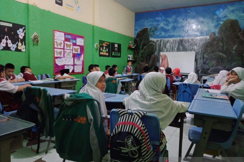 Aktvitas sekolah mulai normal pada hari kedua pasca liburan