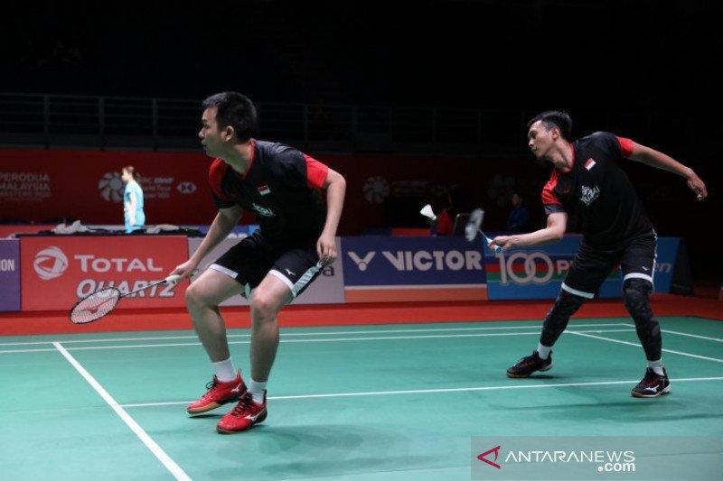 Ahsan/Hendra melaju ke perempat final Malaysia Masters