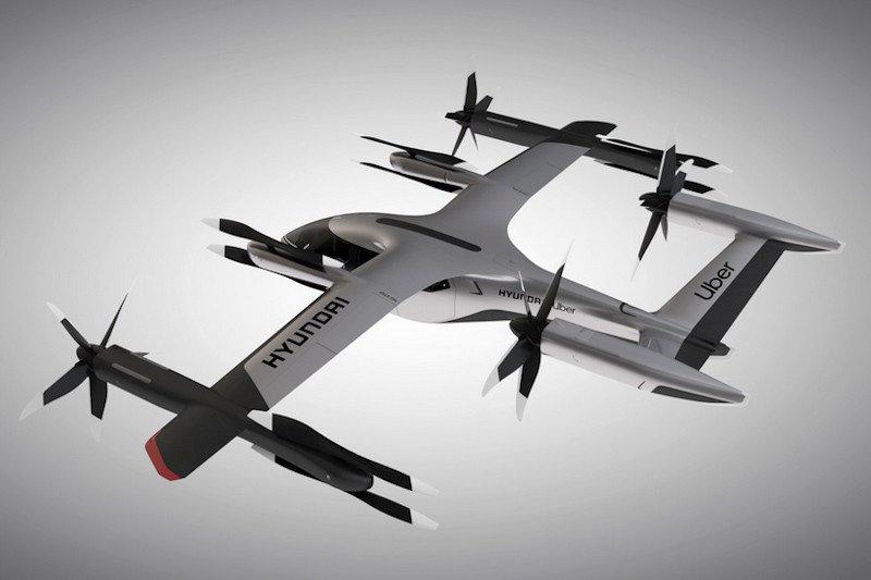 Hyundai dan Uber sepakat mengembangkan taksi udara dengan pesawat kecil