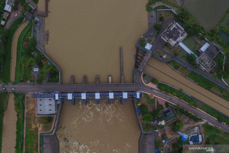Bendungan Manganti sebagai pengendali banjir dan saluran irigasi di Ciamis