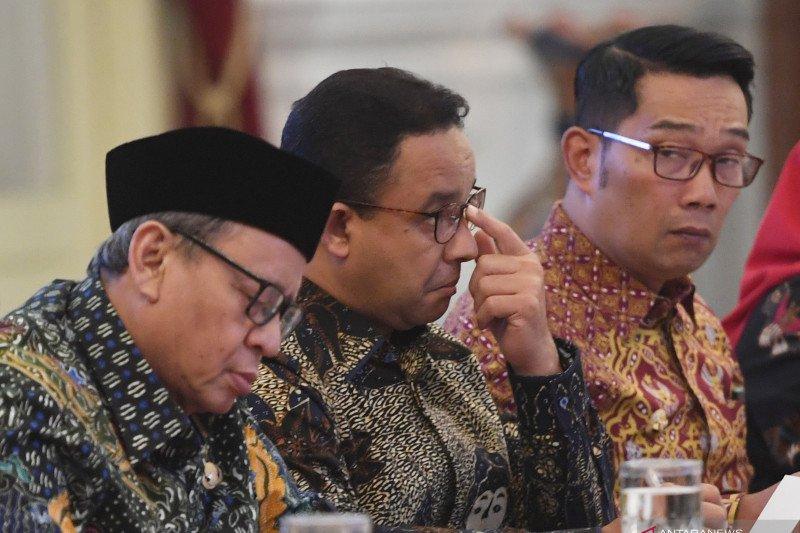 Ridwan Kamil usul bangun empat bendungan baru di Jabar kepada Presiden