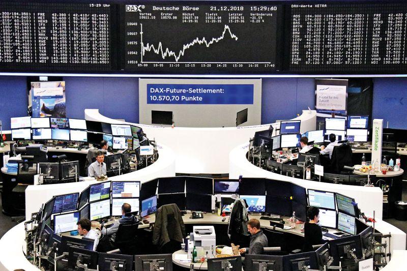 Indeks DAX 30 melonjak 2,51 persen setelah anjlok