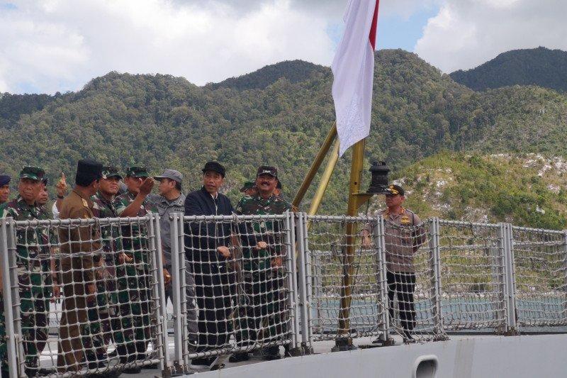 Presiden RI Joko Widodo pastikan Natuna masuk teritorial NKRI