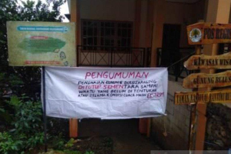 Jalur pendakian Gunung Bulusaraung ditutup sementara karena cuaca ekstrem