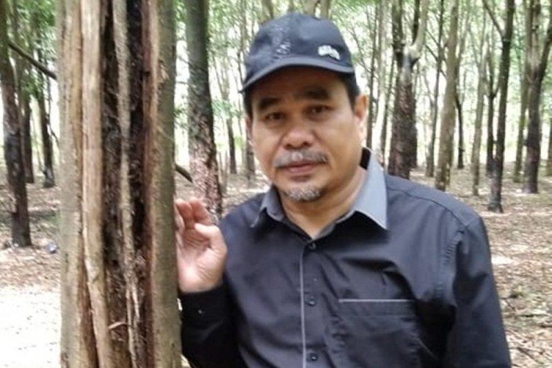 Haji Hermansyah orang Banjar di Bengkulu sukses bisnis produk teh celup gaharu