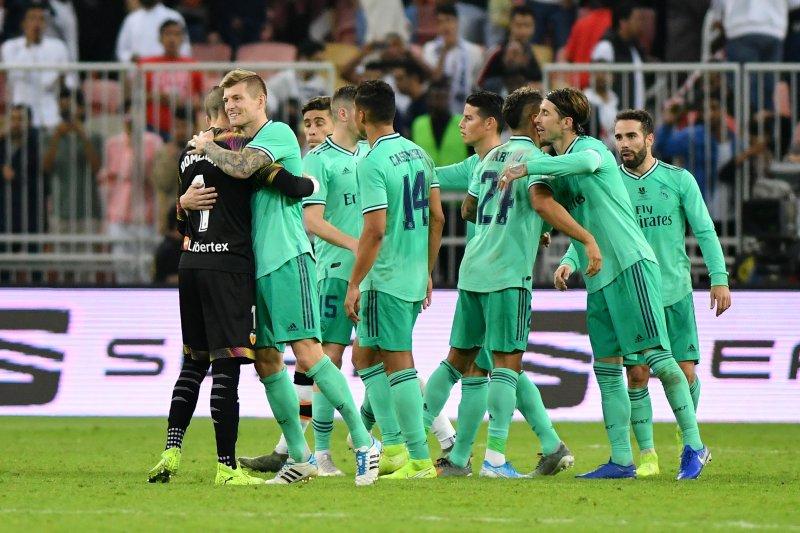 Real Madrid kalahkan Valencia 3-1 pada semifinal Piala Super Spanyol