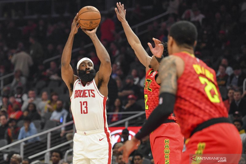 Houston Rockets akan pensiunkan jersey No. 13 milik James Harden
