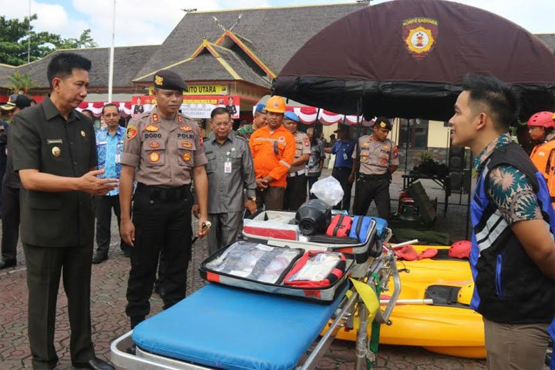 Barito Utara gelar pasukan menghadapi bencana alam