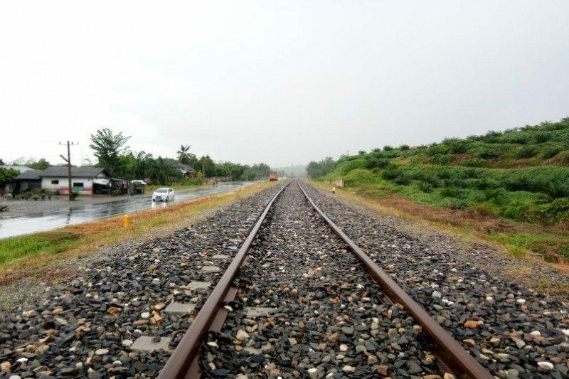 Maling bantalan kereta api di Sumatera Utara ditangkap