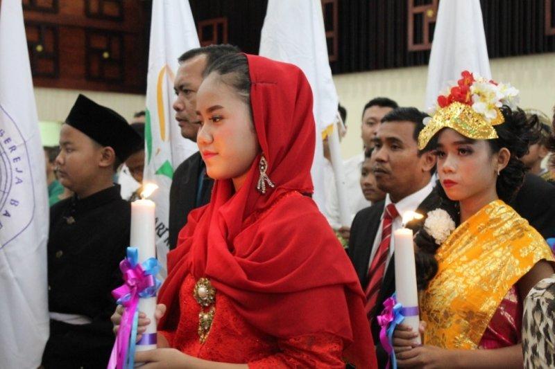 Perayaan Natal Oikoumene Provinsi Lampung tahun 2019