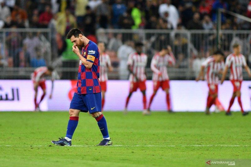 Messi alami paceklik gol