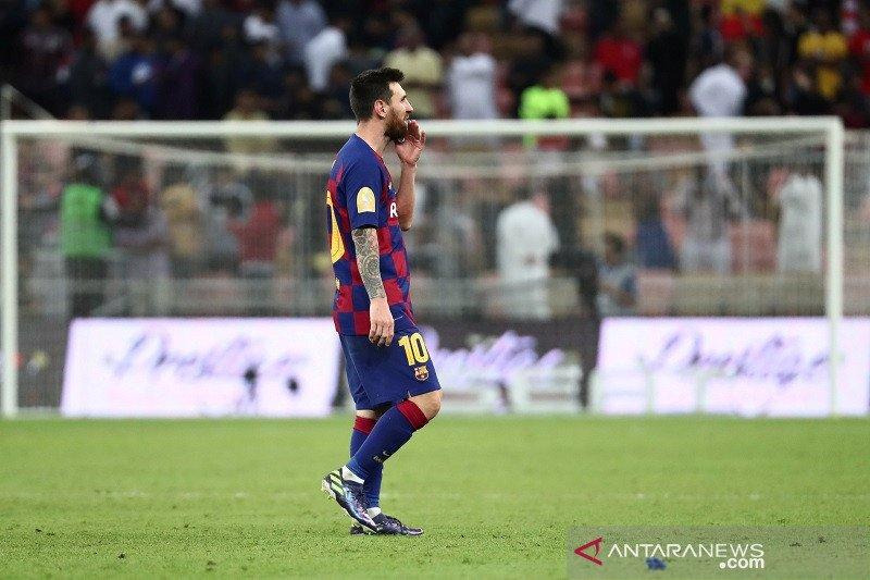 Messi tak mau Barcelona buat kesalahan bak bocah lagi di sisa musim 2019/2020
