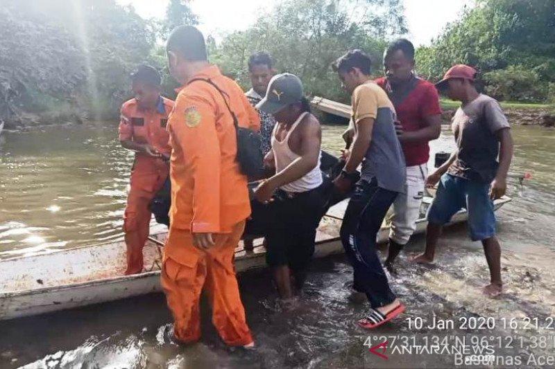 Seorang warga Aceh Barat meninggal dunia, diduga terseret arus sungai