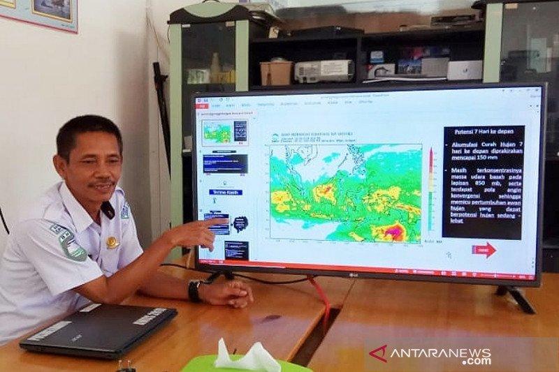 Curah hujan Barito Selatan masih normal