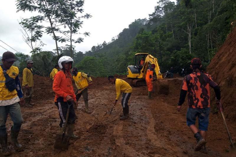 25 kejadian tanah longsor landa Banjarnegara sejak awal 2020
